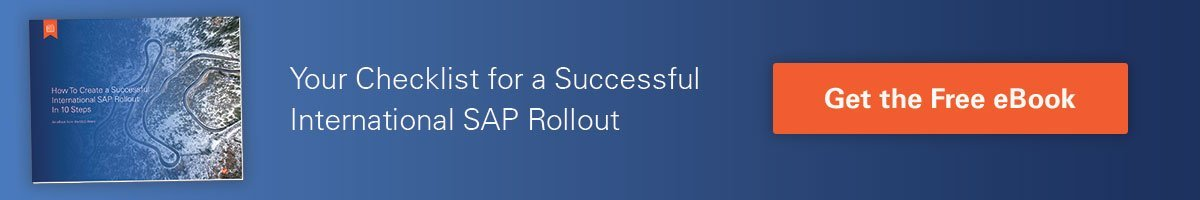 SAP Rollout