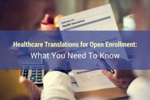 healthcare translations