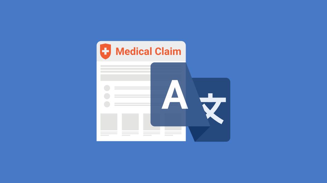 medical claim translation
